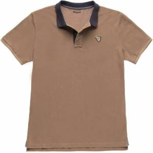 Blauer USA Vintage Poloshirt M Brun