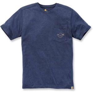 Carhartt Maddock Strong Graphic Pocket t-skjorte XS Blå