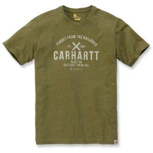 Carhartt EMEA Outlast Grafisk t-skjorte XS Grønn