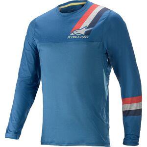 Alpinestars Alps 4.0 LS Sykkel Jersey XL Blå