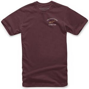Alpinestars Banner T-shirt S Rød