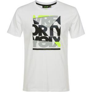 VR46 VRFORTYSIX T-shirt XS Hvit