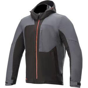 Alpinestars Stratos V2 Techshell Drystar Motorsykkel tekstil jakke L Svart Grå