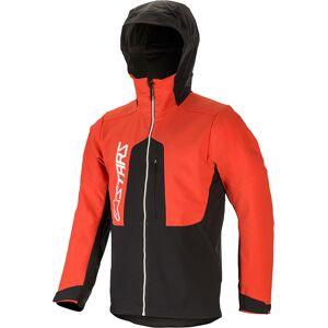 Alpinestars Nevada Softshell sykkel jakke XL Svart Rød