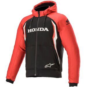 Alpinestars Honda Chrome Sport Motorsykkel Hettegenser L Svart Rød