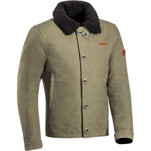 Ixon Worker Motorsykkel tekstil jakke S Grønn Brun
