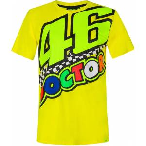 VR46 The Doctor 46 T-shirt L Gul