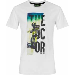 VR46 The Doctor T-shirt XS Hvit