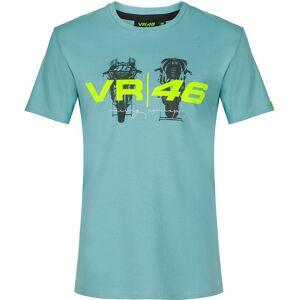 VR46 T-shirt XS Blå