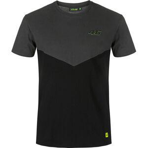 VR46 Core Apron T-shirt XS Svart Grå