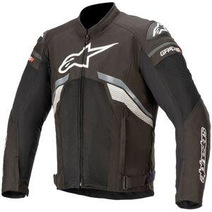 Alpinestars T-GP Plus V3 Air Motorsykkel tekstil jakke XL Svart Grå Hvit
