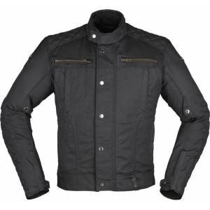 Modeka Thiago Motorsykkel tekstil jakke XS Svart