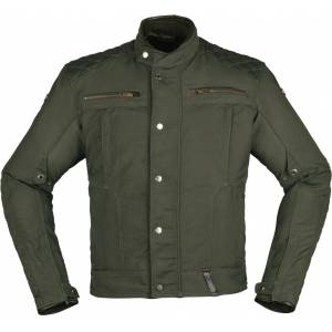 Modeka Thiago Motorsykkel tekstil jakke XS Grønn