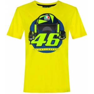 VR46 Cupolino T-shirt XS Gul