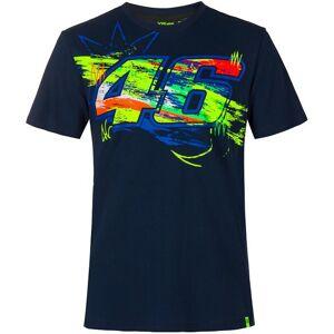VR46 Winter Test T-shirt S Blå