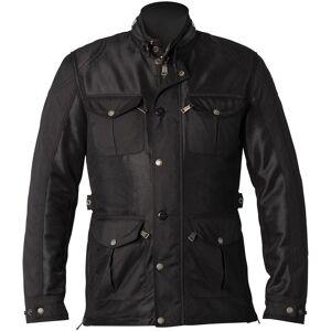 Helstons Field Mesh Motorsykkel tekstil jakke XL Svart