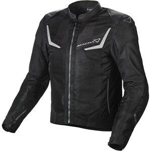 Macna Orcano Motorsykkel tekstil jakke XS Svart