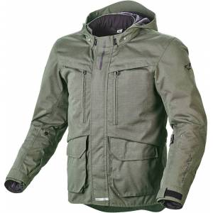 Macna Rival Motorsykkel tekstil jakke XL Grønn Brun