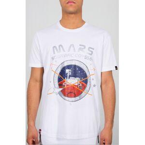 Alpha Industries Mission to Mars T-shirt M Hvit