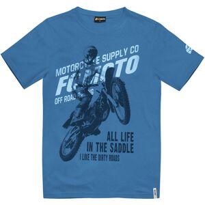 FC-Moto Team-FCM T-shirt 2XL Blå