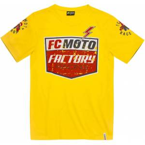 FC-Moto Crew T-shirt M Gul