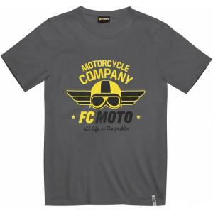 FC-Moto Wings T-shirt L Grå