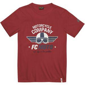 FC-Moto Wings T-shirt L Rød