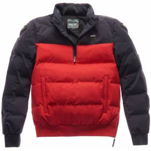 Blauer Winter Pull Bicolor Motorsykkel tekstil jakke S Rød Blå