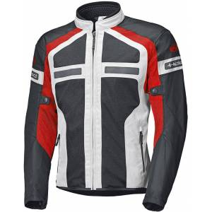 Held Tropic 3.0 Motorsykkel tekstil jakke 3XL Grå Rød