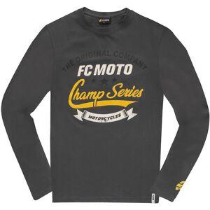 FC-Moto Champ Series Langermet skjorte M Svart Grå