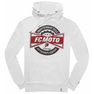 FC-Moto FCM-Fan Hettegenser S Hvit
