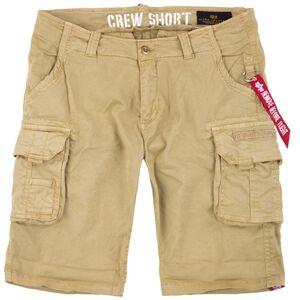 Alpha Industries Crew Shorts 30 Beige