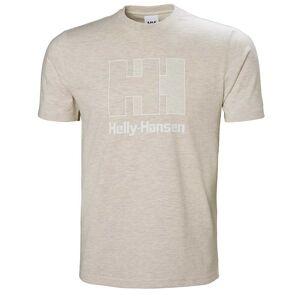 Helly Hansen Logo Tshirt Beige XXL