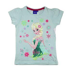 Lys Blå Frozen Elsa T-skjorte til Jente