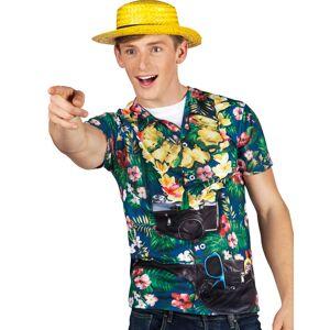 Turist T-skjorte med Fotorealistisk Print
