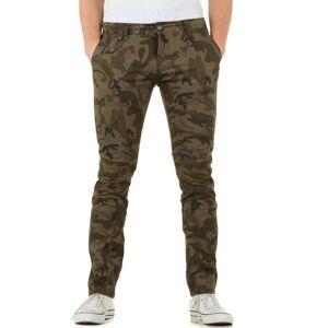 Militærgrønn Bukse