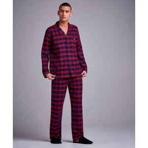 Gant Flannel Pajama Set Shirt Röd