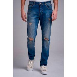 GABBA Jeans Rey Stayhard X Gabba Blå