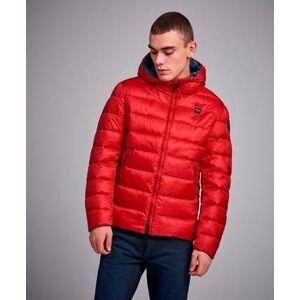 Blauer Light Weight Down Jacket Röd