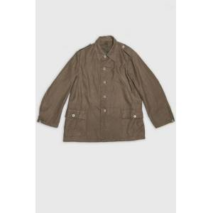 Vintage by Stayhard Swedish Army Chore Jacket Washed Grön