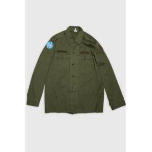 Vintage by Stayhard Military Shirt Grön