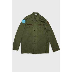 Vintage by Stayhard Skjorta Military Shirt Grön