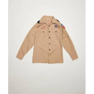 Vintage by Stayhard Scout Shirt Brun
