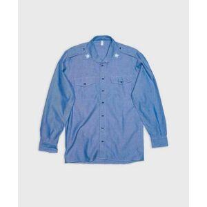 Vintage by Stayhard Skjorta Italian Chambray Shirt Blå