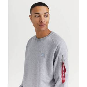 Alpha Industries Sweatshirt X-Fit Sweat Grå