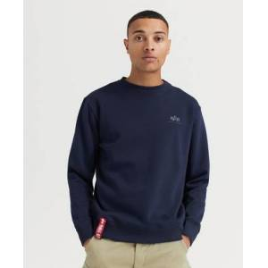 Alpha Industries Basic Sweater Small Logo Blå