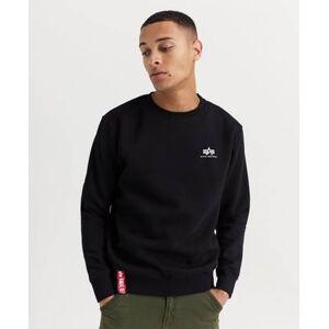 Alpha Industries Basic Sweater Small Logo Svart