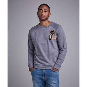 Adrian Hammond Hudson Badge sweater Grå