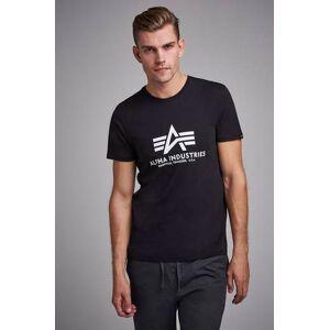 Alpha Industries T-Shirt Basic Tee 93 Svart