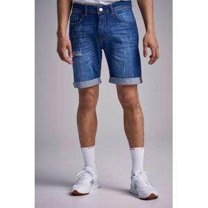 Just Junkies Jeansshorts Mike Short CB Collect Blue Blå